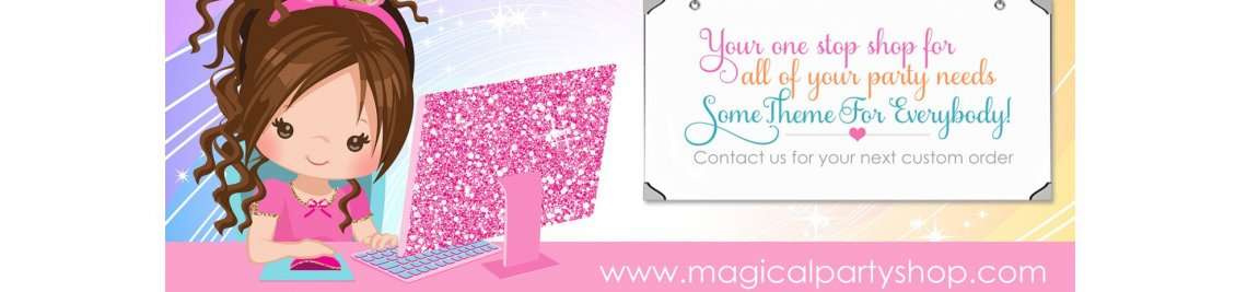 Magical Party Shop Profile Banner