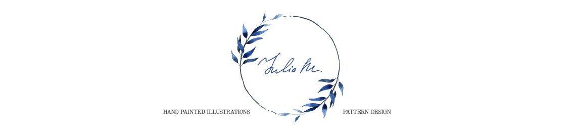 Julia M Watercolor Profile Banner