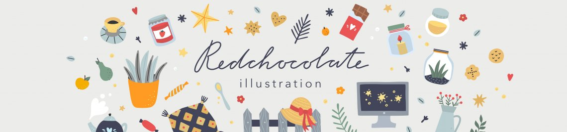 redchocolate illustration Profile Banner
