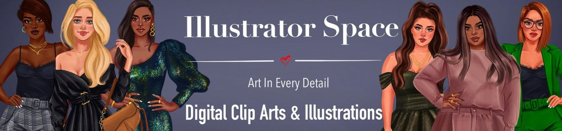 Illustrator Space Profile Banner