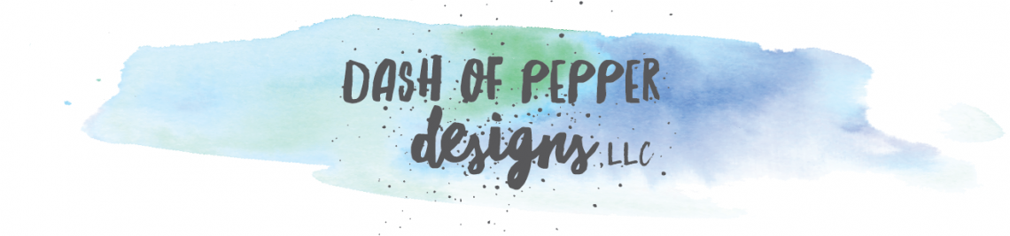 Dash of Pepper Designs LLC Profile Banner