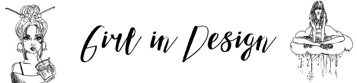 Girl in Design Profile Banner