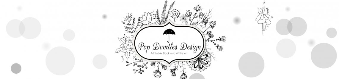 Pop Doodles Design Profile Banner