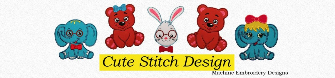 CuteStitchDesign Profile Banner