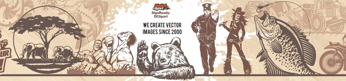 Digital-Clipart Profile Banner