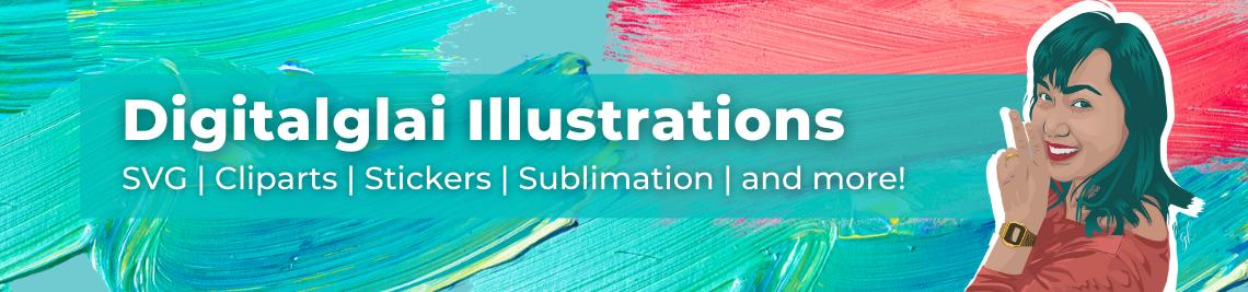 Digitalglai Illustrations Profile Banner