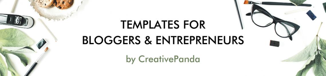 Creative Panda Profile Banner