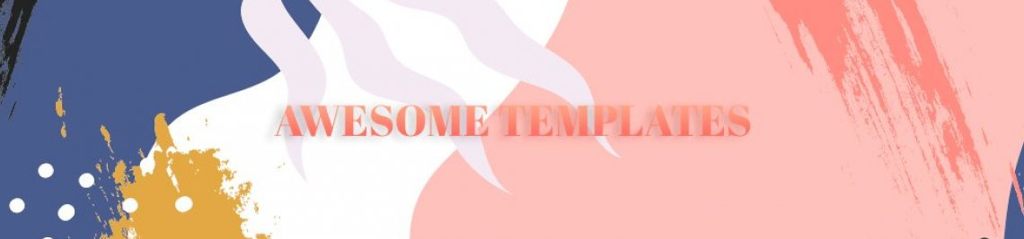 Awesome Templates Design Profile Banner