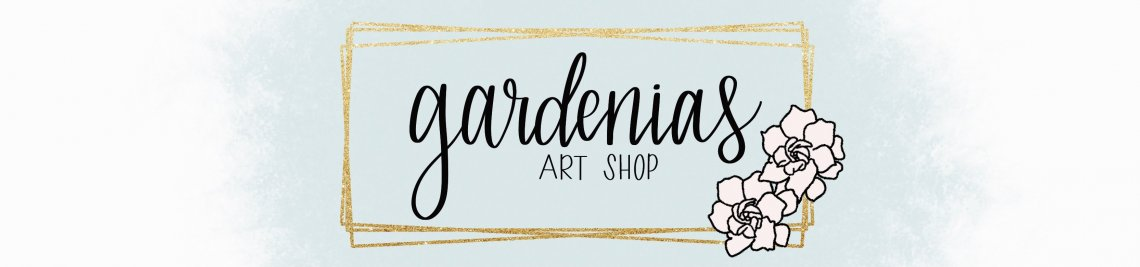 Gardenias Art Shop Profile Banner
