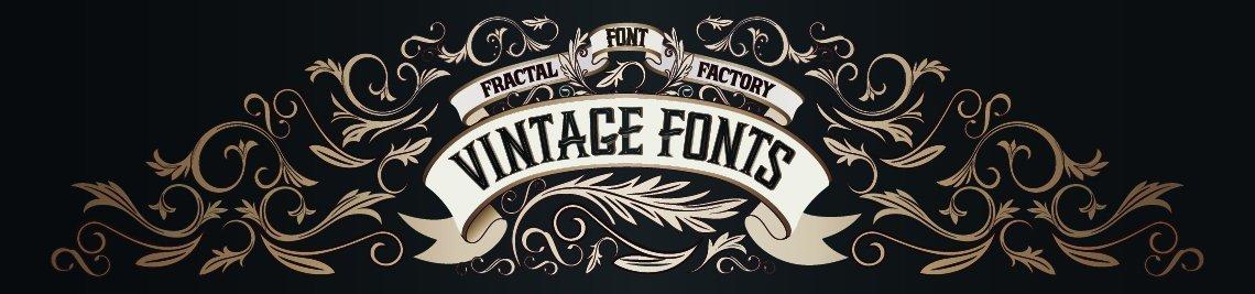 Fractal fonts Profile Banner