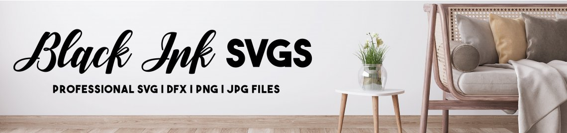 Black Ink SVGs Profile Banner
