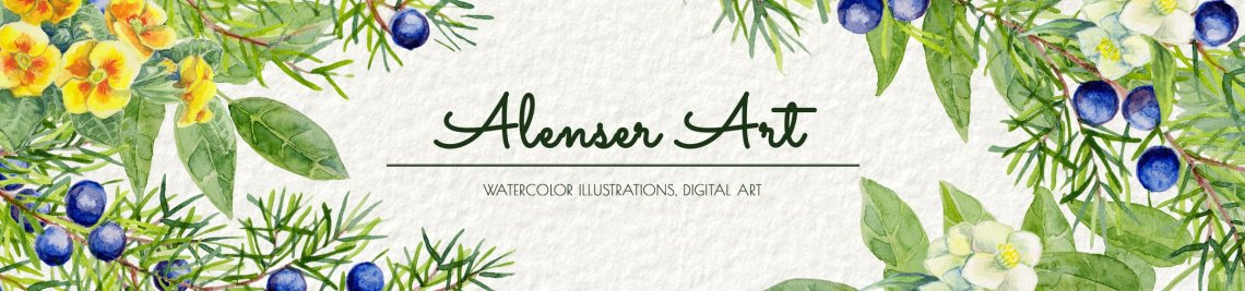 AlenserArt Profile Banner