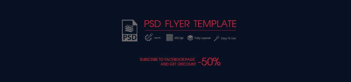 Flyer Template Profile Banner