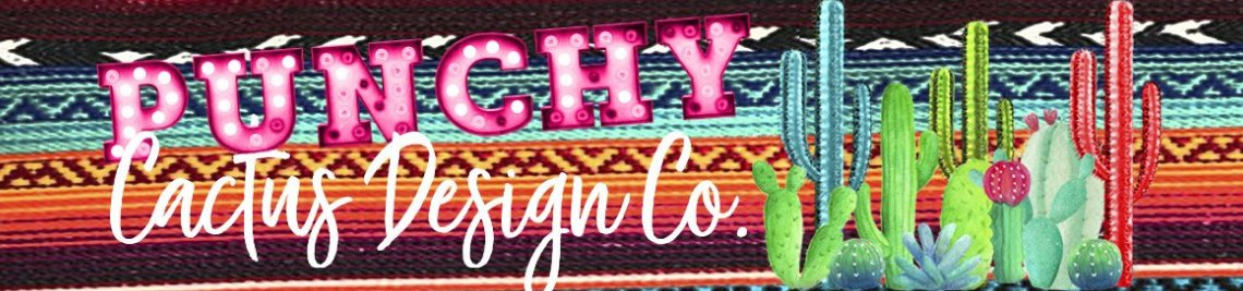 Punchy Cactus Design Co Profile Banner