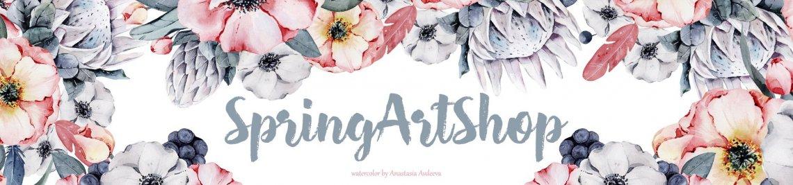 SpringArtShop Profile Banner