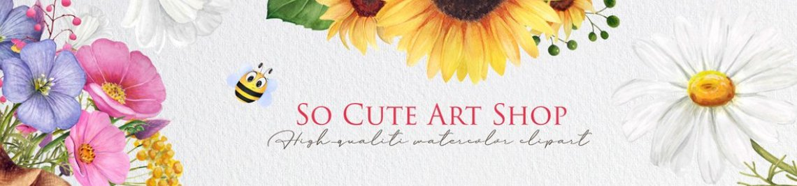 So Cute Art Shop Profile Banner