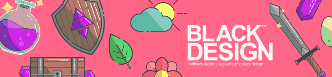 Black Design™ Profile Banner