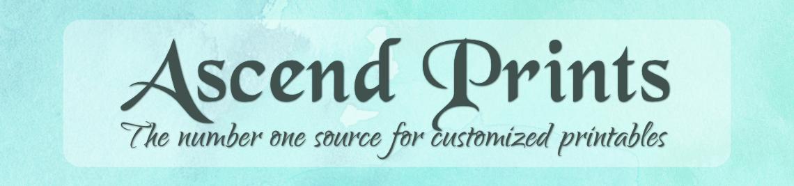 Ascend Prints Profile Banner