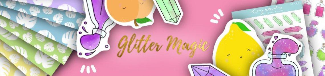 Glitter Magic Profile Banner