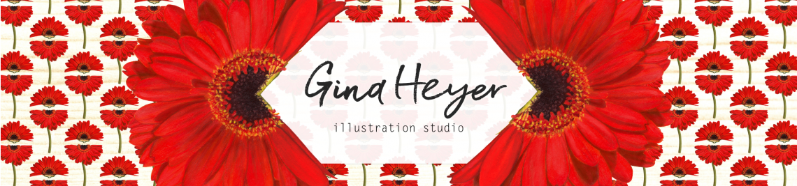 Gina Heyer Illustration Profile Banner