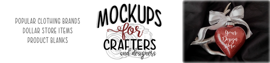 MOCK-UPS FOR CRAFTERS & DESIGNERS Profile Banner