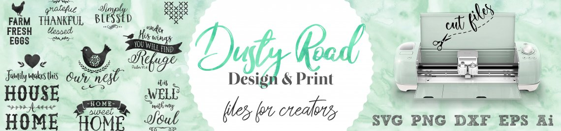 Dusty road design Profile Banner