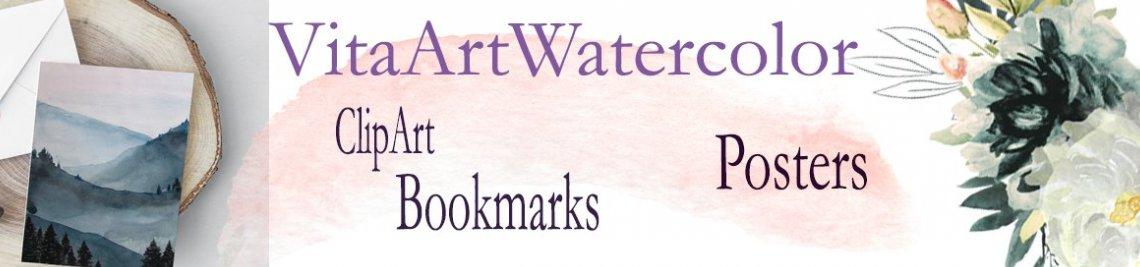 VitaArtWatercolor Profile Banner
