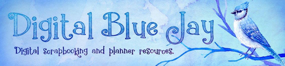 Digital Blue Jay Profile Banner
