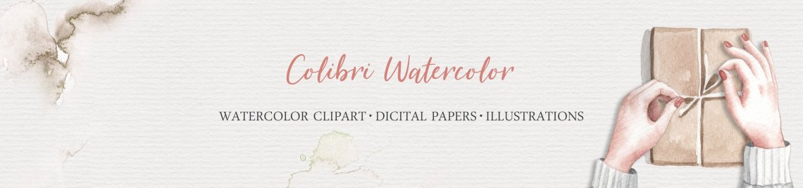 ColibriWatercolor Profile Banner