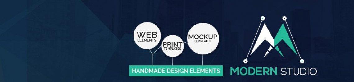 Modern Studio Profile Banner