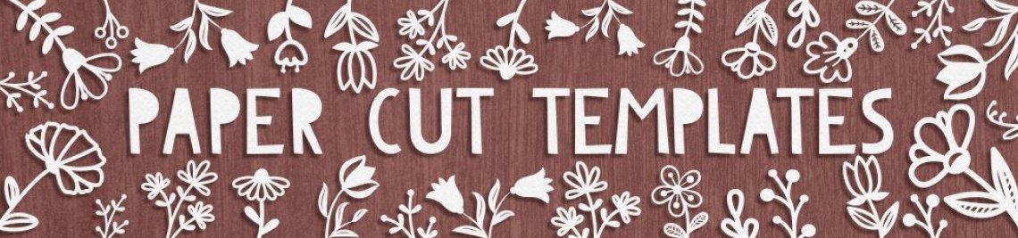 Paper Cut Templates Profile Banner
