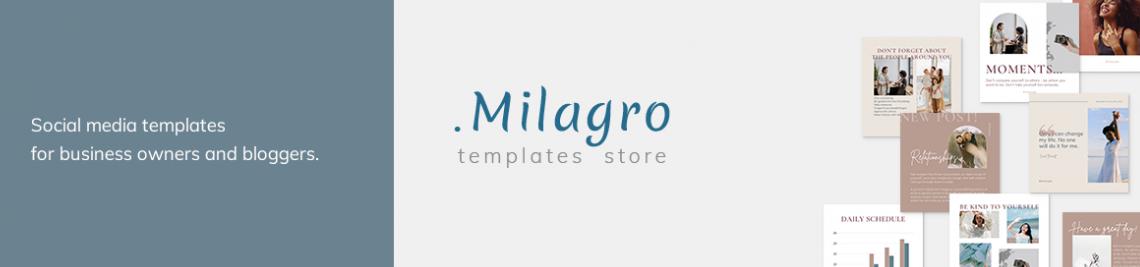 Milagro Design Store Profile Banner