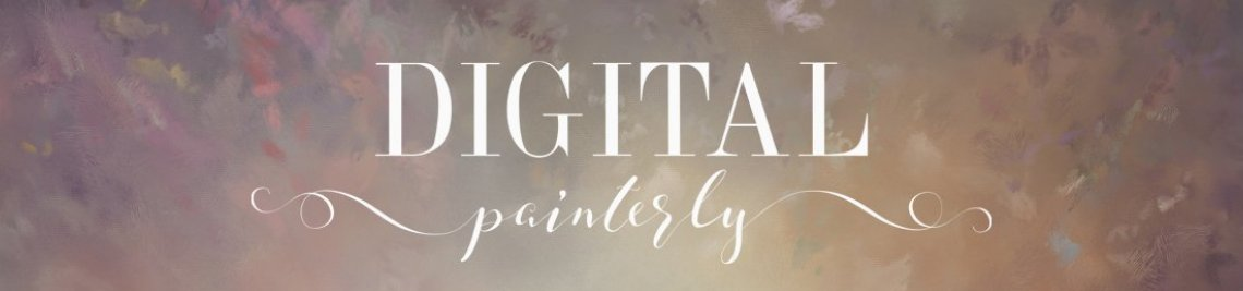 Digital Painterly Profile Banner