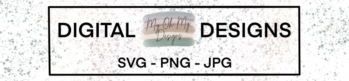 The My Oh My Designs Profile Banner