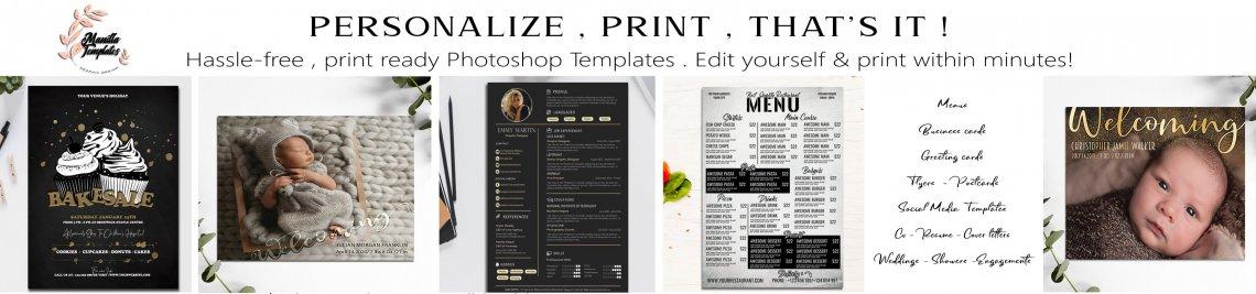 Manilla templates Store Profile Banner