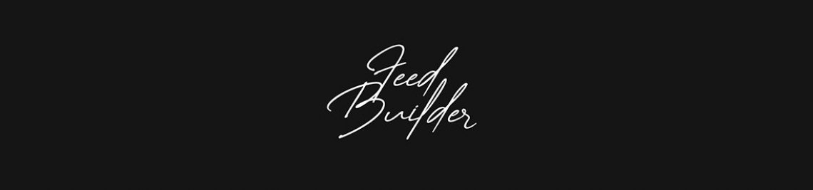Feed Builder Profile Banner