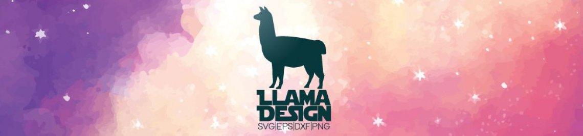 Llama Design Profile Banner