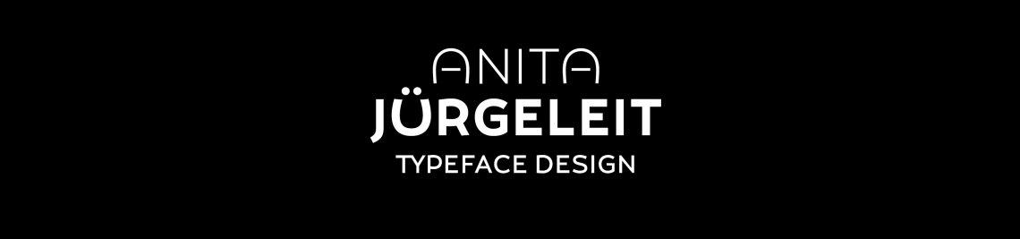 Anita Jürgeleit Typeface Design Profile Banner