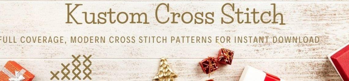 Kustom Cross Stitch Profile Banner