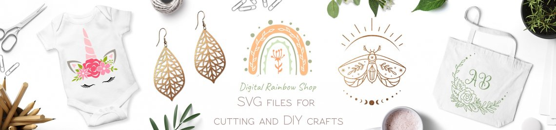 Digital Rainbow Shop Profile Banner