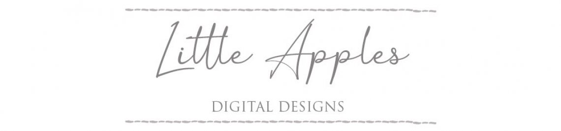 Little Apples Digital Designs Profile Banner