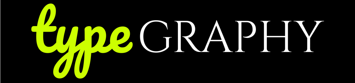 Type Graphy Profile Banner