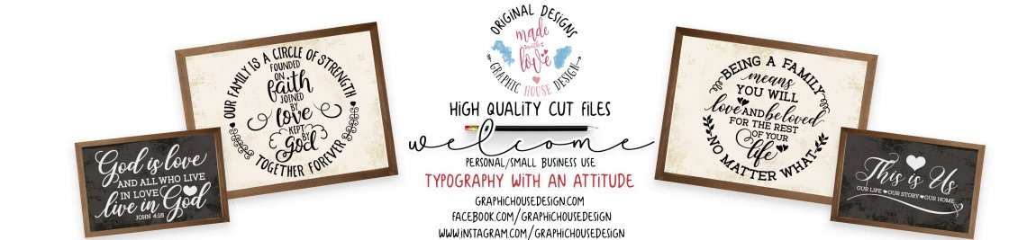 GraphicHouseDesign Profile Banner