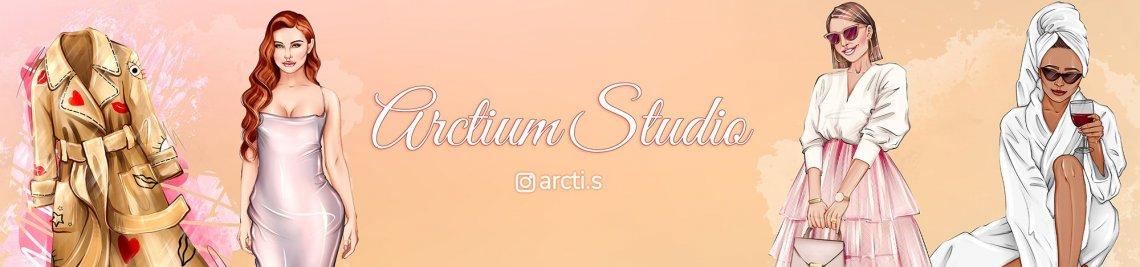 ArctiumStudio Illustrations Profile Banner