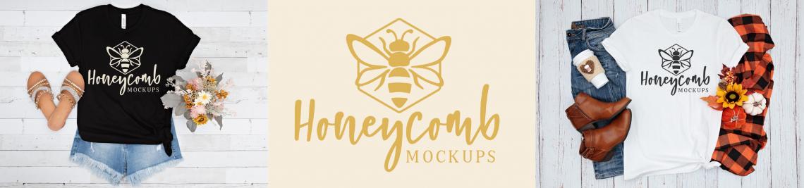 Honeycomb Mockups Profile Banner