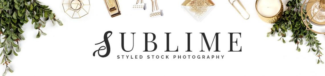 SUBLIME Styled Stock Photography Profile Banner