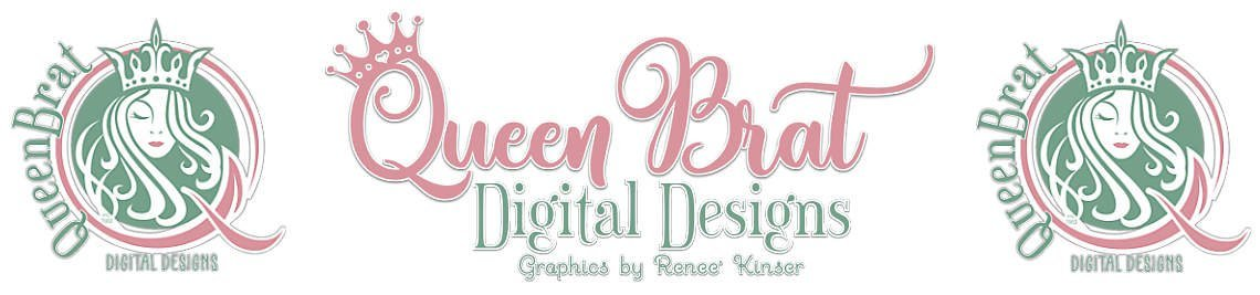 QueenBrat Digital Designs Profile Banner