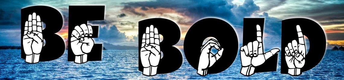 American Sign Language - ASL Designs Profile Banner
