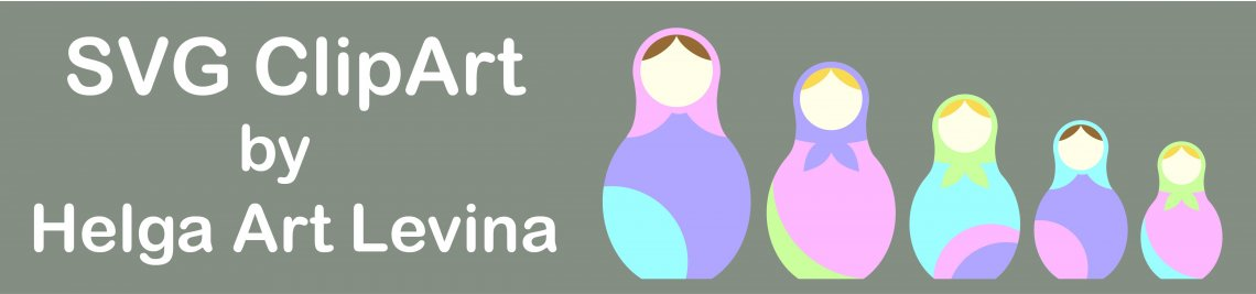 SVG ClipArt by Helga Art Levina Profile Banner