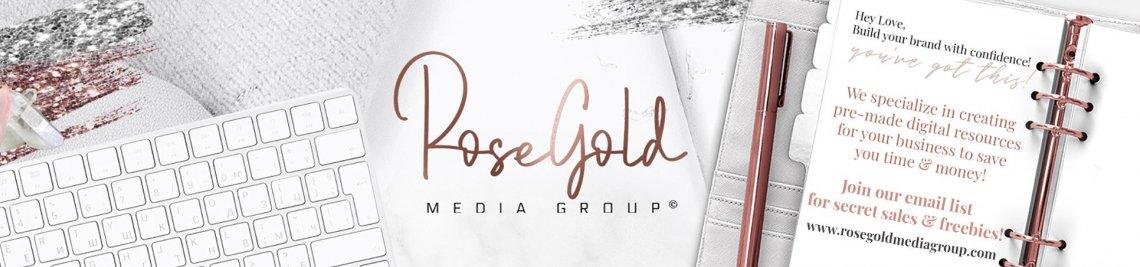 Rose Gold Media Group Profile Banner